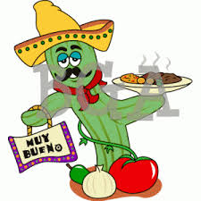 free mexican food potluck clipart - clipartmansion